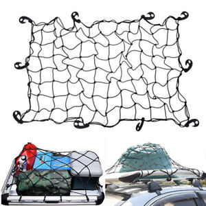 New Car Suv Roof Rack Cover Network Luggage Carrier Cargo Basket Elasticated Net