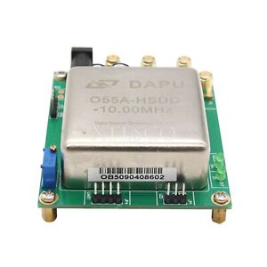 Adjustable 10mhz Ocxo Crystal Oscillator Frequency Reference Reference Board Xs