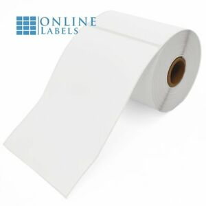Online Labels 4 X 6 Shipping Labels For Thermal Transfer Printers