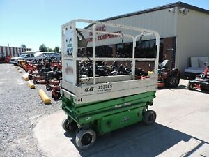 2010 Jlg 1930es Scissor Lift Genie Electric Good Condition