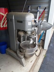 Hobart L 800 Commercial 80 Quart Mixer With Accessories Used Pick Up Only