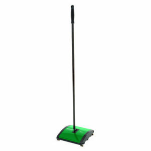 Bissell Bg23 Commercial Floor Sweeper With 2 Nylon Brush Rollers