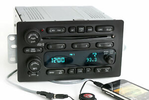 Chevy Gmc 2005 2009 Truck Radio Am Fm 6 Disc Cd Player W Aux Mp3 Input 10359577