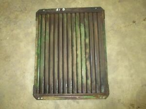 1951 John Deere B 50 Used Working Radiator Shutters Antique Tractor