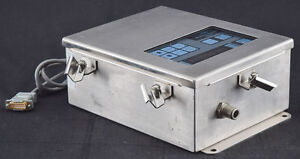 Met One 237d Laboratory Clean Room Particle Detector Counter Panel System