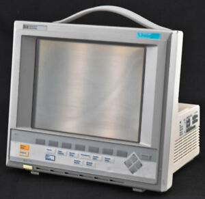 Hp Viridia M1204r 24c 24 26 Medical Color Omnicare Patient Monitor System Unit