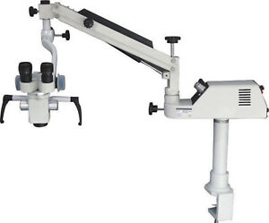 Dental Microscope Operating Portable Microscope Wall Hanging Table Holding 3step