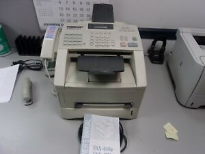 Brother Ind 4100e Business Class Fax Machine
