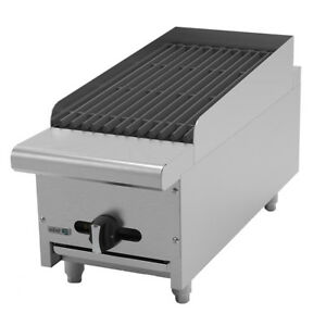 Asber Aerb 12 12 Countertop Gas Radiant Charbroiler