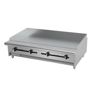 Asber Aemg 48 H 48 Countertop Manual Gas Griddle