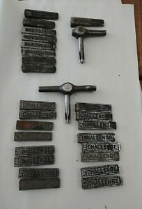 Letterpress Wedge Quoins Challenge Printer Quoins With Key And Hemple Weges