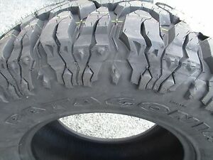 4 New 275 70r18 Milestar Mud Tires 2757018 70 18 M T Mt 70r R18 E