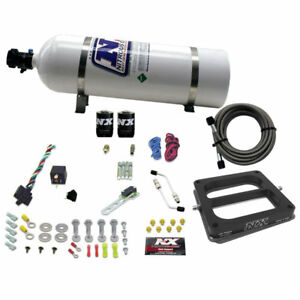 Nitrous Express 30075 15 Dominator alcohol 50 100 150 200 250 300hp With 15lb