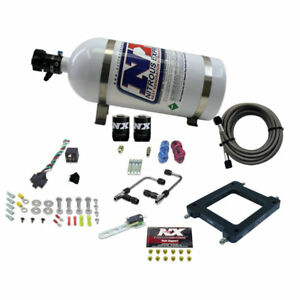 Nitrous Express 60075 10 Dominator Gemini Stage 6 Alcohol With 10lb Bottle