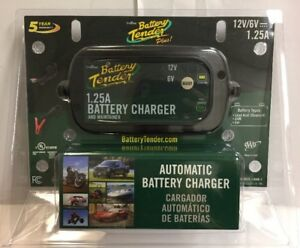 New Battery Tender 0220211dlwh Plus Selectable Battery Charger 6v 12v 1 25a