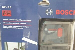 Bosch Gpl3 S 3 Point Self leveling Alignment Laser Level