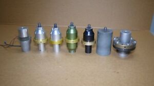 Branson Ultrasonic Welder Accessories Adapters Horns