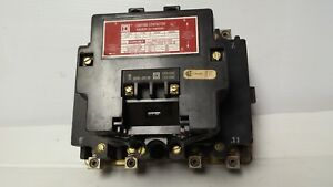 Square D 8903 100 Amp s003 Lighting Contactor 4 Pole 120vac Coil