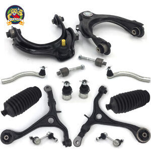 Front Upper Lower Control Arm Kit For 03 07 Honda Accord Acura Tsx 2 4l W Tierod