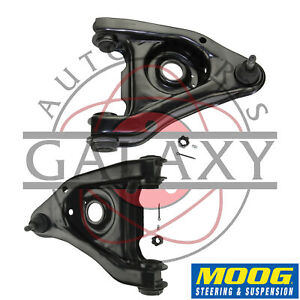 Moog Rk622130 Pair Front Lower Control Arms For Ford Mustang 1987 93