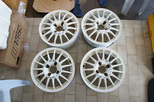 Jdm Peugeot 306 Oz Racing 14 Rims Wheels Pcd108x4 Rally Superturismo Wrc
