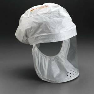3m Be 12 50 522 02 00r50 Tychem Tyvek Qc Head Cover White Regular Use W papr