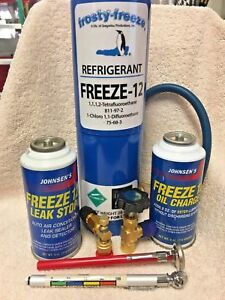 Freeze 12 R 12 R12 Replacement Non Flammable No Cfc S Kit A1
