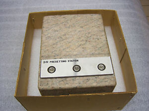 System 3r Wedm Presetting Station 3r us004 Wire Edm Tooling