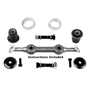 1965 66 Mustang Upper Control Arm Shaft Kit W Upgraded Rubber Bushings 3631jg