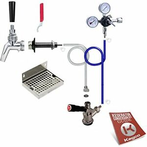 Kegco Premium Door Mount Kegerator Keg Tap Conversion Kit With No Tank