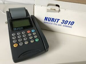 Nurit 3010 Wireless Credit Card Terminal