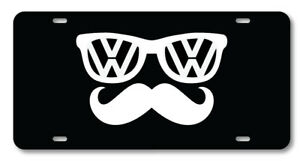 Volkswagen Vw Glasses Racing Auto Vanity License Plate Car Truck Accessory Euro