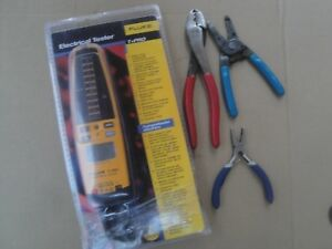 Fluke T pro Meter hvac electrical maint Tool Lot klein gb craftsman williams