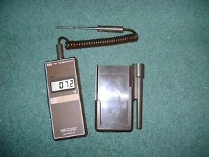 Koch 865 Thermometer Thermistor With Belt Clip And Probe Nice And Works