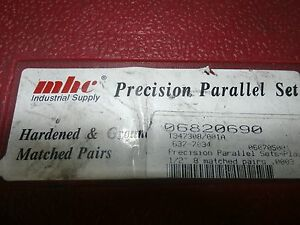 Mhc Precision Parallel Set 637 7034 8 Pairs 7 8 To 1 3 4