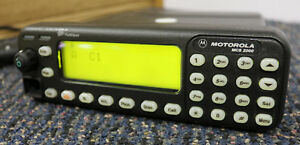 Motorola Mcs2000 Model Iii Control Head Vhf uhf 800 Hcn1118a Flashport