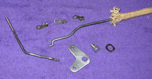 58 1959 1960 Lincoln Premiere Continental Lh Rear Door Lock Knob Latch Link Rods