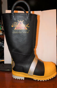Thorogood Hellfire Steel Toe Firefighter Safety Fire Boots Mens Size 6 M