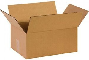 Box Usa B14106 Corrugated Boxes 14 X 10 X 6 Kraft pack Of 25