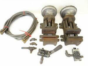 Heinrich Pneumatic Drill Presses Vises Unusual Tools Parts Old Vintage Used
