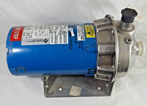 Refurbished Gould 1st1g2a6 Npe Series End Suction 316l Centrifugal Water Pump