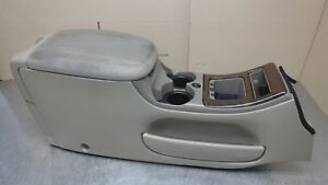 Ford Expedition Lincoln Navigator F150 Cup Holder Center Console Brown Tan 00 02