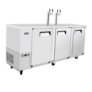 Atosa Mkc90 90 Double Door 4 Keg Capacity Draft Beer Cooler