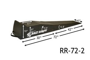 Race Ramps 72 Extended Low Profile Vehicle Sportscar Service Ramps Rr 72 2