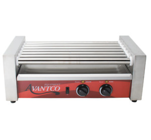 Avantco Concession Electric Hot Dog Roller Grill Cooker Machine Commercial New