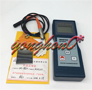 Landtek Thickness Meter Coating Thickness Gauge Metal Cm8820