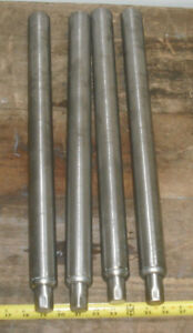 Lot Of 4 Stainless Steel Adjustable Tube Legs For Commercial Sink counter bench
