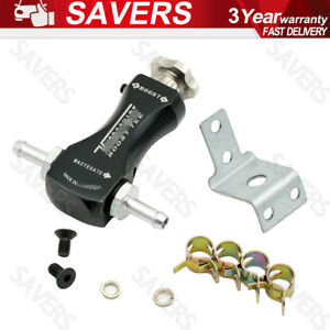 New Boost Tee Boost Control Valve Universal Turbo For Any Turbo Car Mbc Black