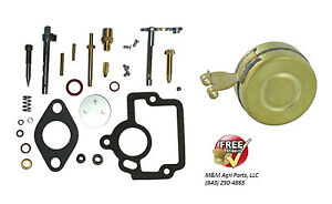 Complete Carburetor Rebuild Kit Float Ih Farmall H Hv I4 O4 W4 Tractor Ih Carb