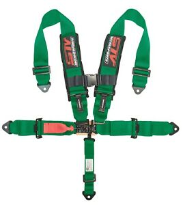 Stv Motorsports Universal Safety Seat Belt Harness 5 Point 2 Inch Green
